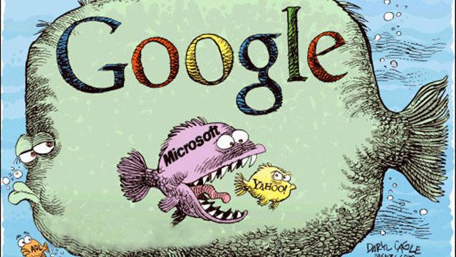 Google 超越微软为老二