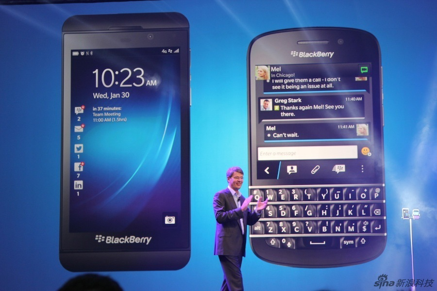 BB Z10 and Q10