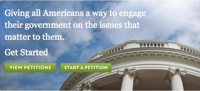 We the People,美国白宫请愿网站中的中国事务