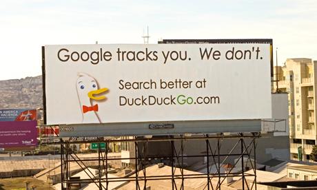 duckduckgo vs google