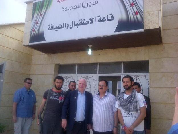 共和党参议员McCain跟美国、黎巴嫩、叙利亚开了一个玩笑