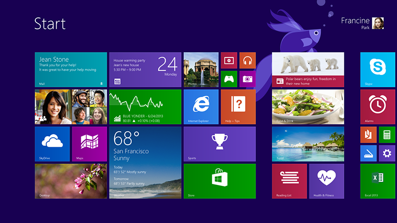 试用Windows 8.1 Preview预览版