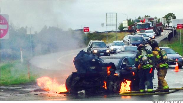 Tesla起火事件后的PR处理案例