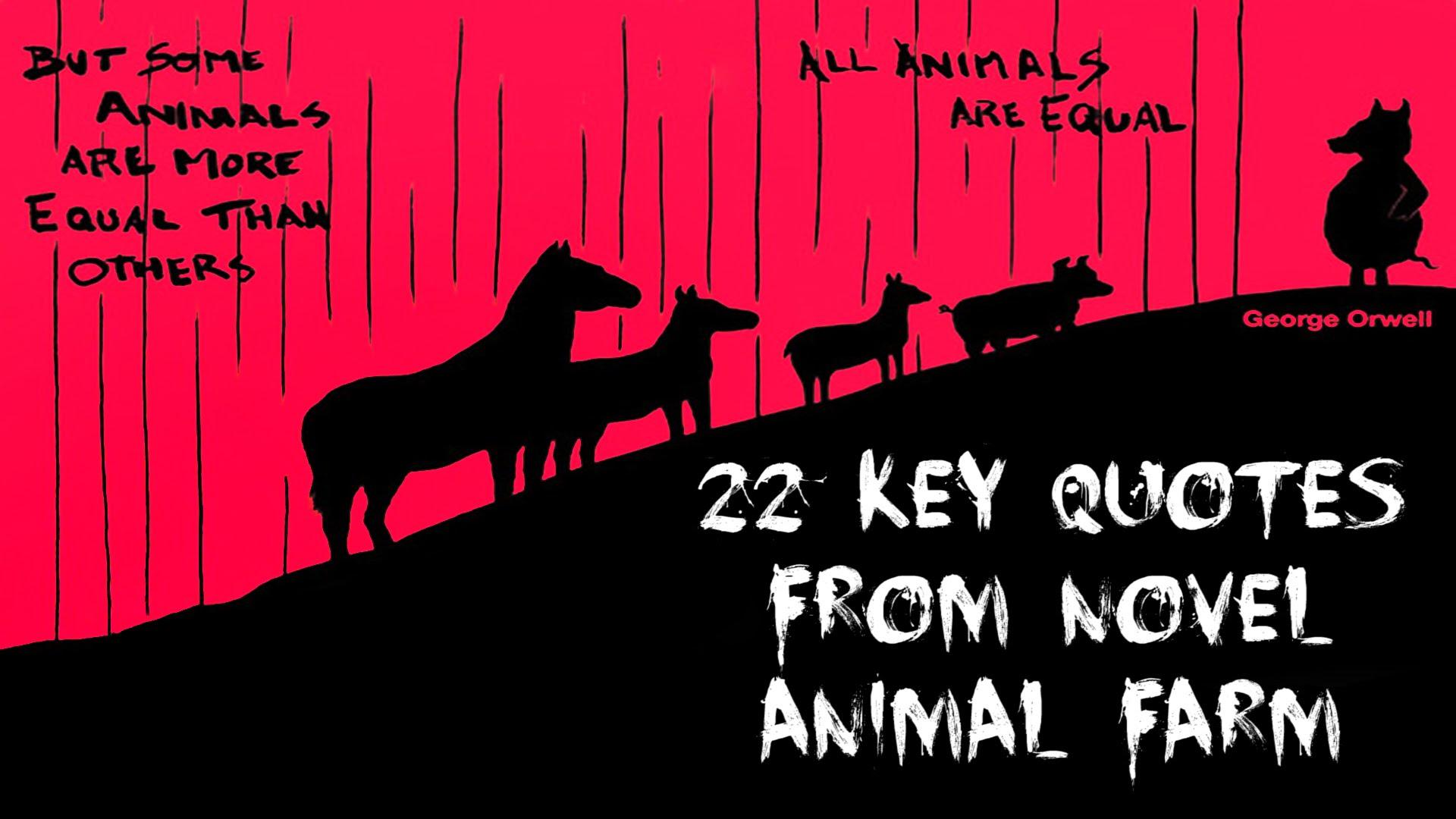 动物农场,George Orwell。