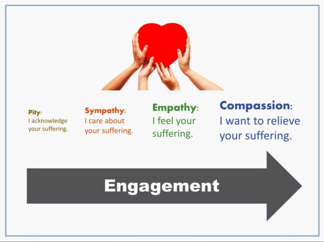 关于'同情''怜悯''同理心'的英文单词